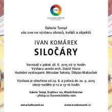 Pozvánka výstava Ivan Komárek el